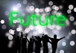 Menschen in der Zukunft
