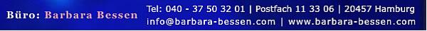 Kontaktinformationen von Barbara Bessen
