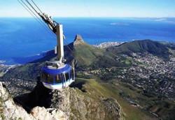 Gondel zum Tafelberg