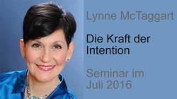 Seminar mit Lynne McTaggart