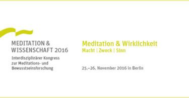 Kongress Meditation & Wissenschaft 2016