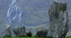 Irland Felsen-Wasserfall Barbara Bessen