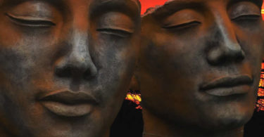 mann-bronze-gesichter-man