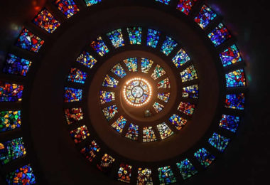 spirale-glas-fenster-stained-glass