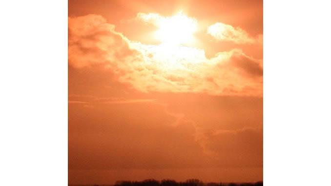 Golden-licht-himmel