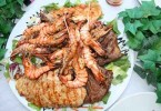 Vitamin B3-Fleisch und Fisch
