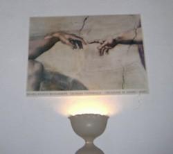 Nahtod mein größtes Geschenk Lampe