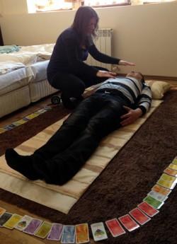 Wirkung von Reiki im menschlichen Energiesystem 343 Klienten Behandlung
