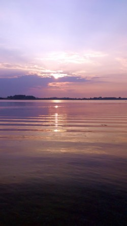 Sonnenuntergang auf Poel 19052014
