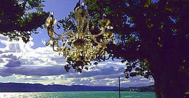 Glitzern am See