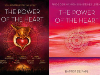 The power of the heart - Buch und DVD