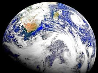 Unsere Erde aus dem Weltall