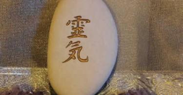 Reikizeichen auf stein