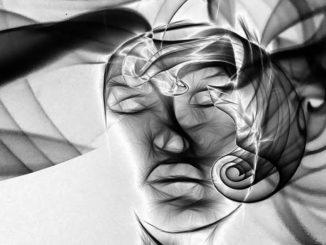 Gesicht abstrakt