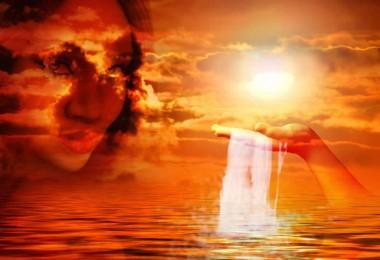 Seele-gesicht-licht-sea