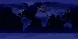 Erde in der Nacht