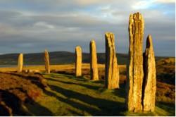 Schottland -Steine