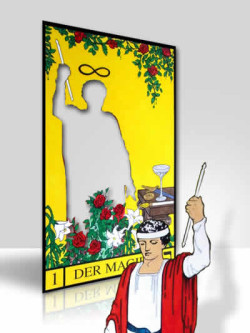 Vier magische Werkzeuge  AMORC   Der Magier