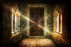Mystisch Gewölbe Licht magisch