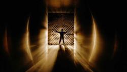 Quantenphysik und Spiritualität Mensch licht wind tunnel