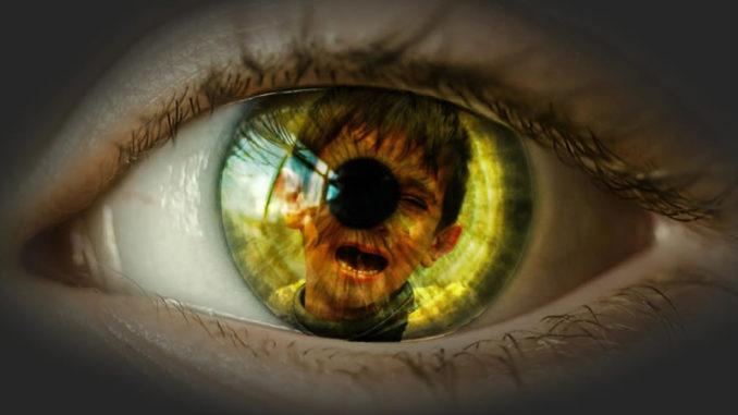 Auge Kind Schmerz