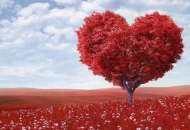 Engel Jeliel-herz-Baum-heart-shape