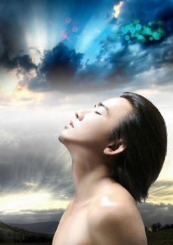 Wunscherfüllung-mann-gesicht-himmel-man