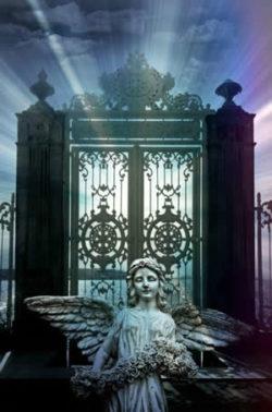 Beten wie geht das engel tor licht angel