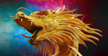Drachen-Gold-dragon