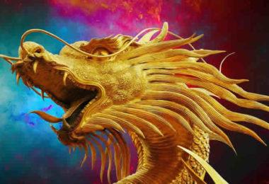 Drachen-Gold-dragon