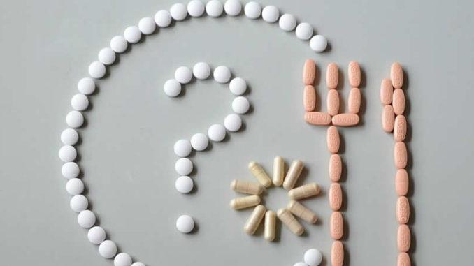 Tabletten-nahrung-nutrient-additives