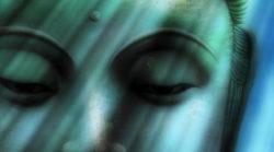 laecheln-blau-gruen-buddha