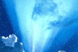 Das Göttliche Lot Himmel Licht blau christmas