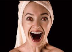 Energieräuber frau mund aufgerissen vampire