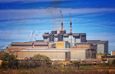 Fabrik-Schornstein-factory