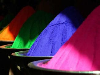 Farben-Pulver-color