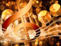 Liebe ist ein Magnet - Werde eine Melodie  Musik Noten licht music