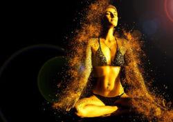 Selbstheilung und Verantwortung Frau frieden meditation woman