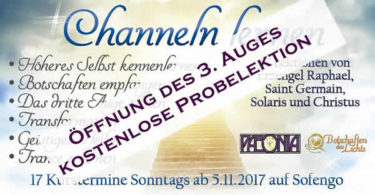 channeln-Georg-Huber-Probe-Kurs