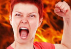 Wut-Frau-Feuer-Aerger-anger