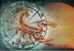 Skorpion-Sonne