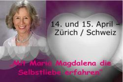 14. und 15. April – Zürich / Schweiz