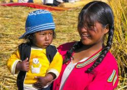 Peru-Frau-Kind