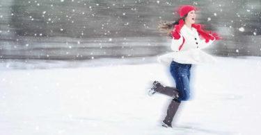 Freude-Schnee-Frau-joy