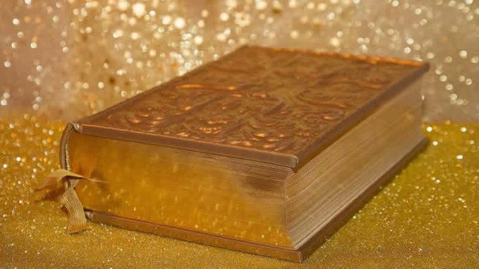 Buch-Gold-Glanz-book