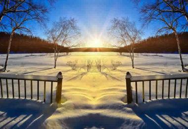 sonne-schnee-blauer-himmel-sunset