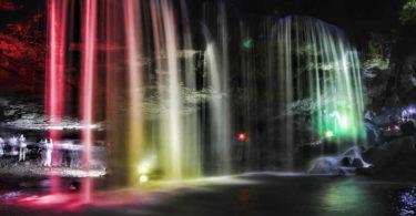 wasserfall-Farben-waterfall