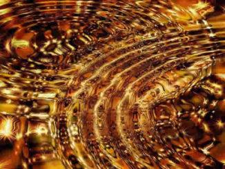 Rebirthing und Atemübung-wellen-golden-sterne-star