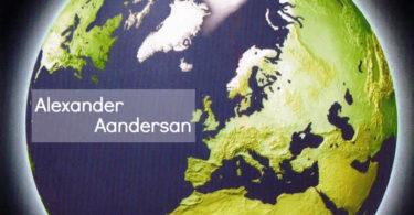 schrift-alexander-aandersan-Postkarte