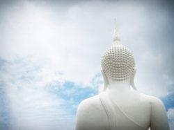 Achtsamkeit Freiheit Weisheit-himmel-blau-buddha